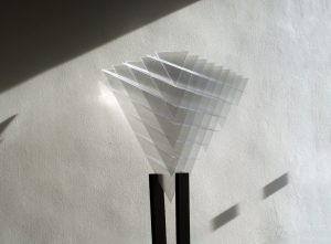 polycarbonate equilateral pyramid